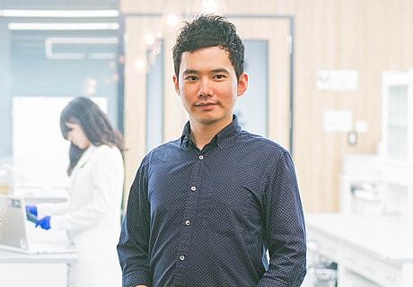 Chief Strategy Officer Katsuya Shimizu